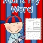 Myles Word Wall Words / Games / by Michelle Neuman