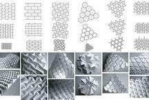 Papír origami térformák
