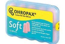 Ohropax / Proteção dos seus ouvidos.