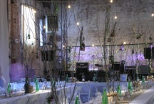 warehouse venue decor