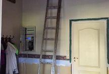 Oppussing av gangen,hallway,rustic,wood / Oppussing,remodeling,gang,hallway,rustic,wood