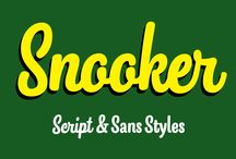 Snooker Typeface