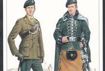 Military Postcard British Army