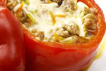 Stuffed Peppers / by Karen Rowland