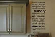 laundry rooms / by Crystal Wilcox