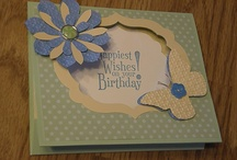 Card Ideas / card samples that have been inspired by fellow cardmakers. / by Diane Lindsay