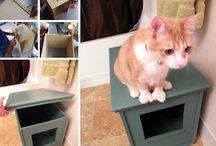 hidden litter box