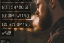 Beardspirational / Beards and quotes to inspire you.