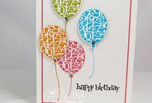 Kaarten, ballonnen
