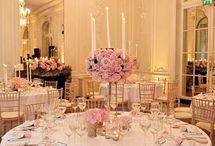 Baby pink wedding / Pretty wedding ideas for one half of my colour scheme.