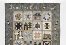 The Sewing Room Sampler Quilt by Yoko Saito