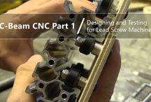 DIY C-Beam Lead Screw CNC Machine