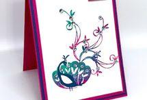 DIY Cards - Beautiful Peacock