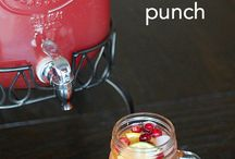 Punch/drink recipes