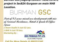 Burman GSC New Project in 82 a Gurgaon