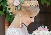 wesele włosy