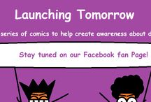 Diabetes comics / Comic strip created to spread awareness about diabetes and living a healthy life.