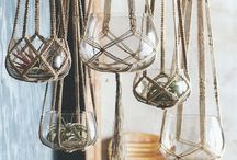 Diy Hanging Plant / Cute and easy diy hanging plants