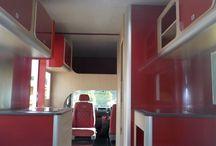 Retro Tourer_Interiors / Our motorhome and commercial tourer interior features