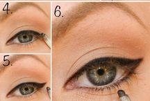 Delineador de ojos negro