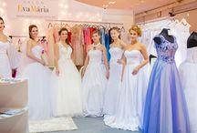 Salón EvaMária po prvýkrát predstavil na výstave svadobné šaty