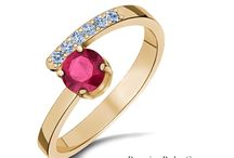 RADIANT RUBIES / Gemstone of the month of July! Rubies arouse the senses, stir the imagination, and are said to guarantee health, wisdom, wealth and success in love!
