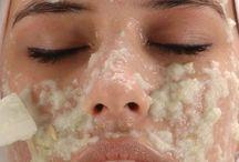 Recetas caseras contra las manchas / mascarillas y cremas relacionadas con las manchas en la cara y el aclaramiento de la piel