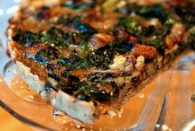 Food: Savoury Slices, Tarts & Pies