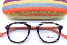 """TF Occialli Designer Retro Layered Coloured Glasses /   Wonderful Italian retro designs that really have that """"something special"""" about them.  Classic style with Italian flair."""