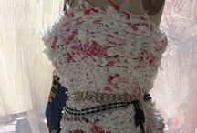 Sade dresses from garbage