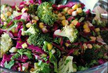 Salatalar soslar Atıştırmalıklar