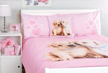 Dog Print Bedding Ideas: Comforters and Pillows / As we love our pet dog, it is fun to fill our bedroom with dog prints in even comforters, sham sets, pillows. It would be great appearance for kids room as well as adult bedroom.  The way we decorate our bedroom with the theme of dog prints, it would give pleasant and perfect look to our bedroom.