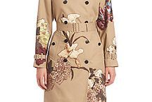 Embroidered trench