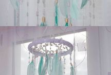 Dreamcatchers and wallhangings