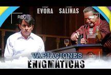 Jorge Salinas regresa al teatro con Variaciones enigmáticas junto a César Évora