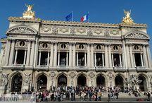 Opera Garnier / Opera Garnier w Paryżu to jedna z największych oper w Europie stworzona przez architekta Garnier.