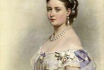 платья на бал 19 век
