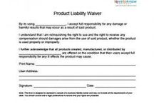 Liability Waiver Template Native Demon Nativedemon On Pinterest