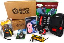 The Handy Box / The Handy Box is the first monthly subscription box designed for handy men and women, DIY'ers (do it yourself-ers), and those enjoy projects around the home.  Each month, The Handy Box delivers useful tools and gadgets to help you complete projects of any size, whether you're hanging a picture or renovating the bathroom.
