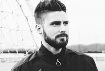 Olivier Giroud / Olivier Giroud, a talented and a very good-looking french soccer player... also the member of Arsenal. Je t'aime, Oliv!!!❤