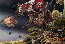 Classic Warhammer Artworks