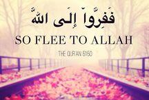 flee to Allah...