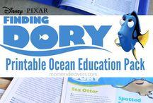 Disney World Unit Study / Educational learning ideas for a Disney World unit study.