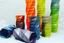 Filament Colours / PLA and ABS Filament Colour Prints