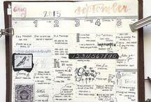 Bullet journal, planner...