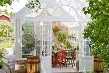 Trädgård/växthus
