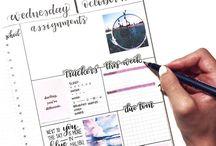 Bullet journal(Agenda)