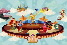 Waldo y los numerolocos / Programa infantil educativo · dirigido por ROBERTO FLORES PRIETO producido por KYMERA PRODUCCIONES · UNIVERSIDAD DEL NORTE