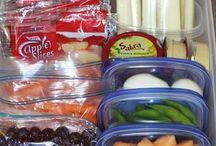 Family healthy snacks etc
