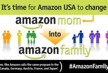 #AmazonFamily / Some of you may have heard about the petition that has been hitting the internet hard over the last week that is calling for Amazon to change the name of it's Amazon Mom program to Amazon Family here in the US. I wanted to lend my voice to the cause here because I too believe that this is important and a worthy cause to champion and by the end of you reading this I am hoping that you too will take this up as well.